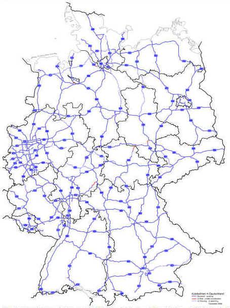 autobahnkarte