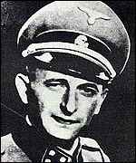 Eichmann in SS uniform