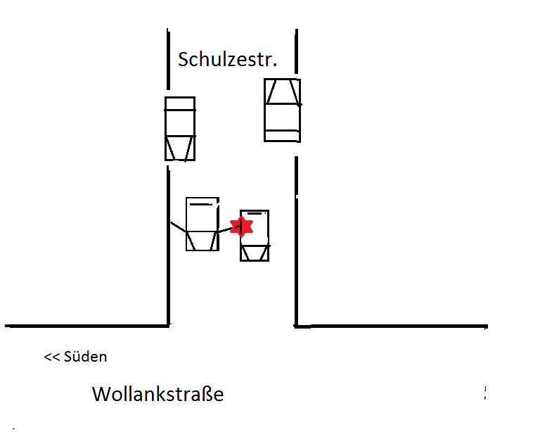 Schön Verkehrsunfall Skizze Bilder - Elektrische ...